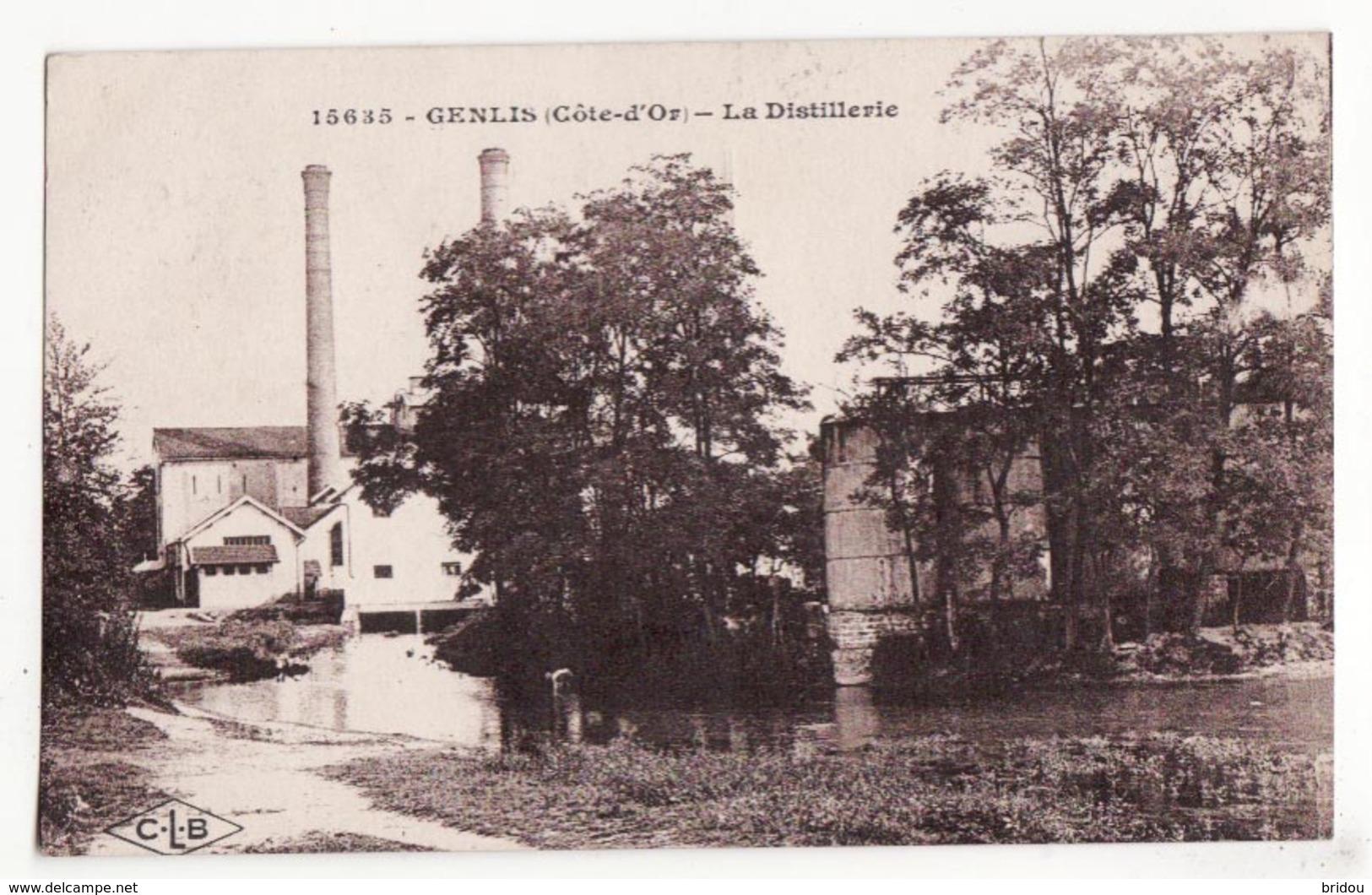 21  GENLIS   La Distillerie - France