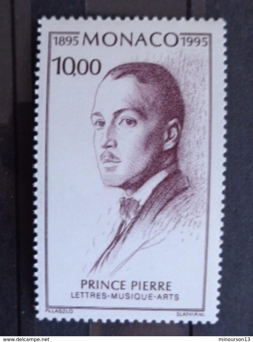 MONACO 1995  Y&T N° 1983 ** - CENTENAIRE DE LA NAISSANCE DU PRINCE PIERRE DE MONACO - Monaco