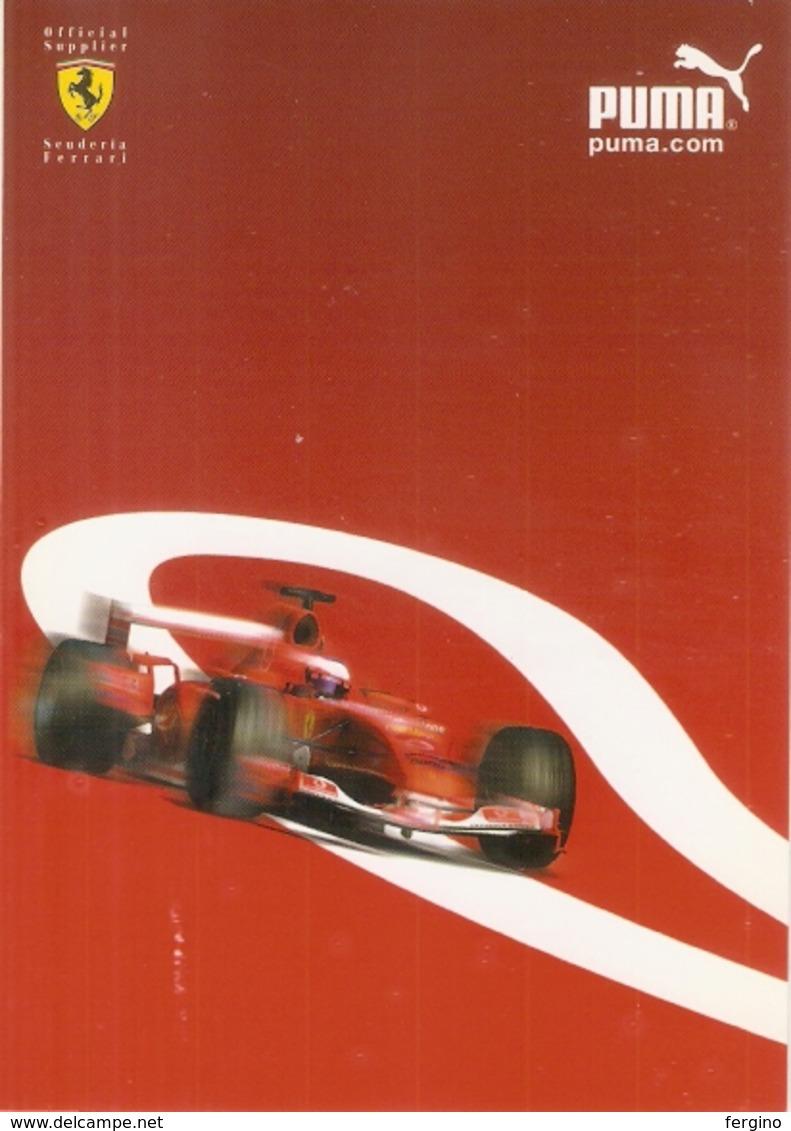 138/FG/19 - SPORT - AUTOMOBILISMO - ABBIGLIAMENTO - FERRARI: PUMA - Cartes Postales