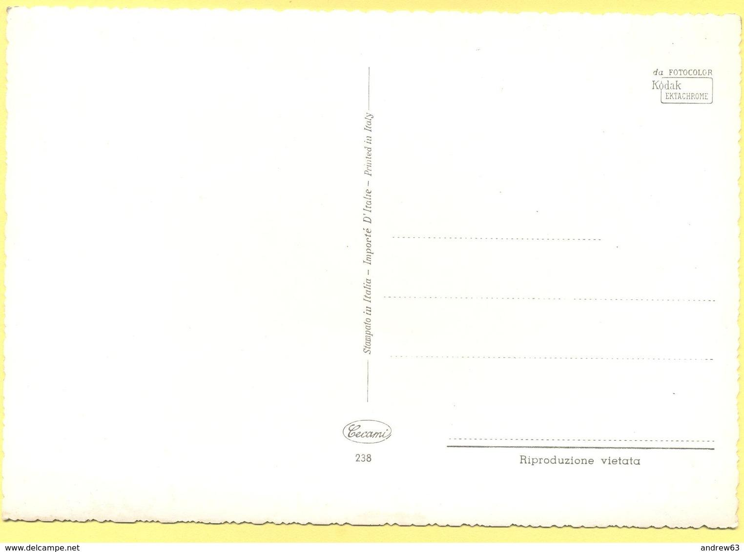 Tematica - Fiori - Vaso Di Fiori - Not Used - Affrancature Meccaniche Rosse (EMA)