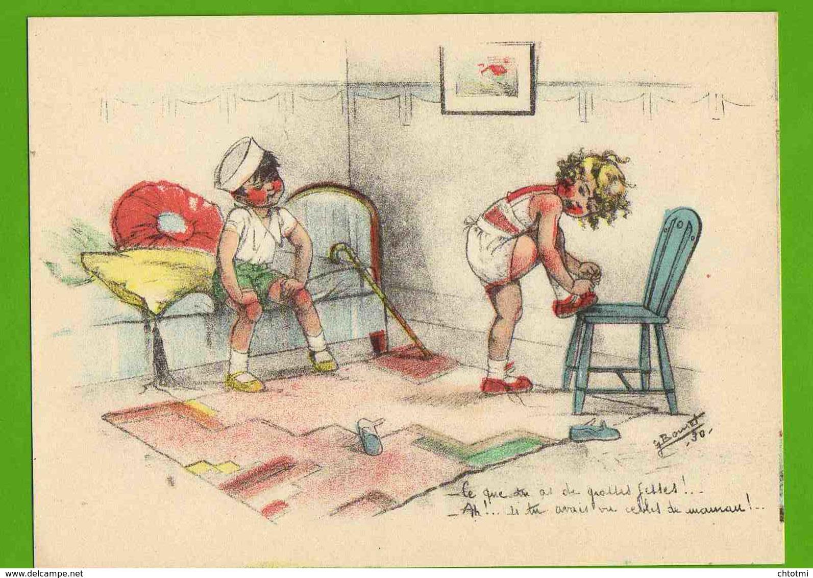 Gravure GERMAINE BOURET : Ce Que Tu As De Grosses Fesses 1930 - Bouret, Germaine