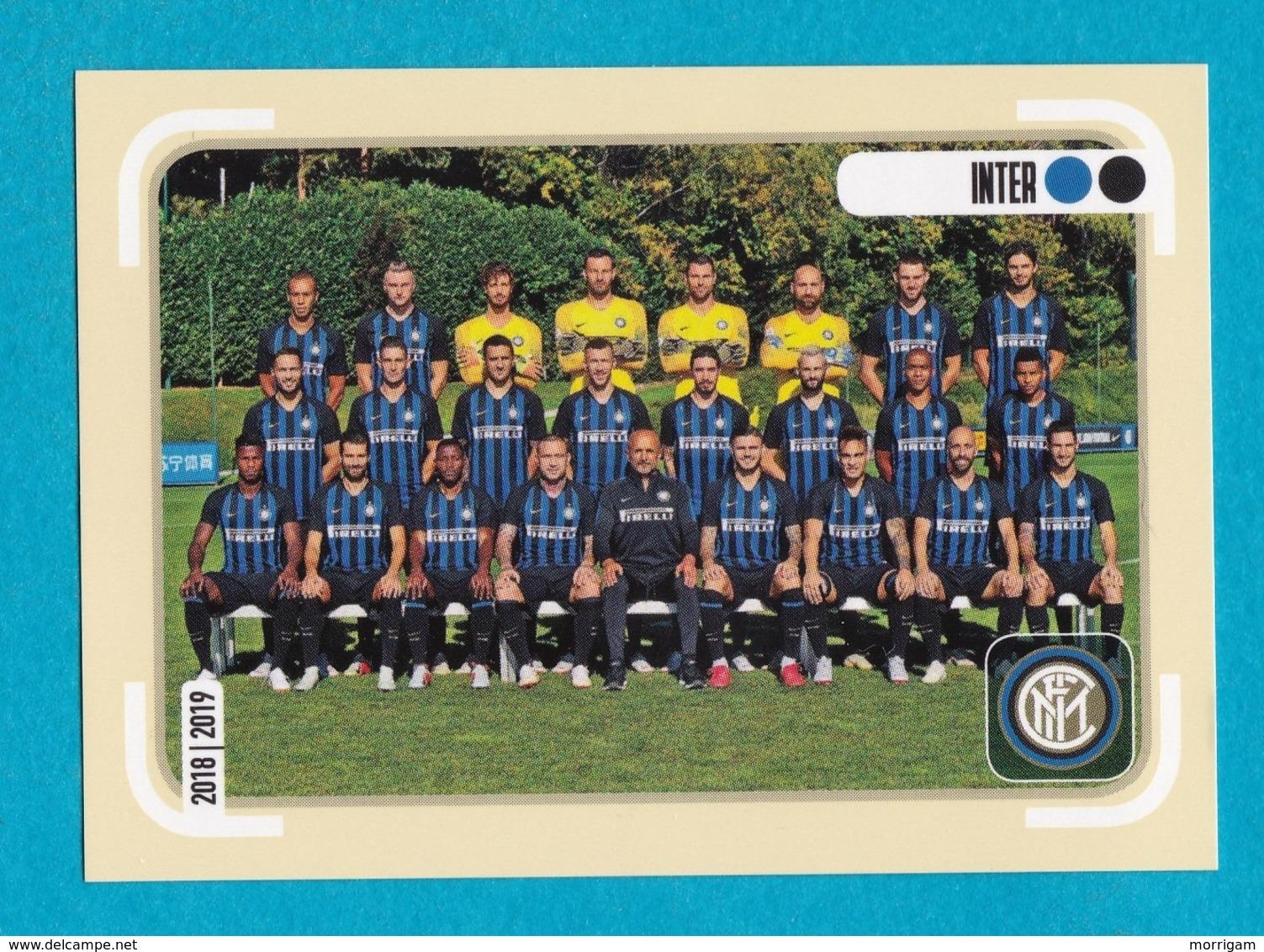 CALCIATORI Panini 2018 2019 - 252  Inter  Squadra - Panini