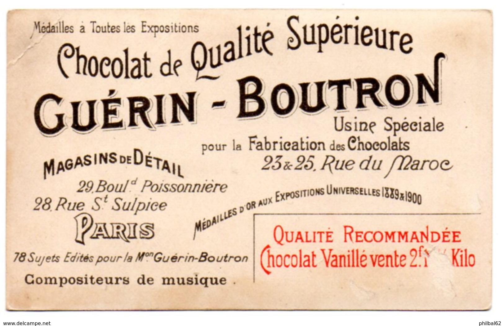 Chromo Guérin-boutron. Pergolèse, La Servante Maîtresse. - Guerin Boutron