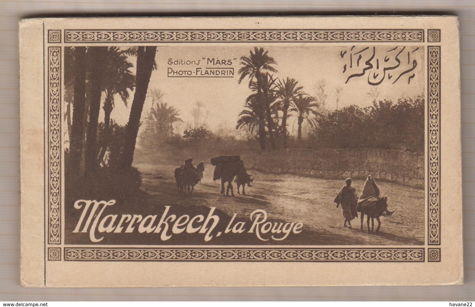 9AL265  CARNET TUNISIE BARDO Art Musulman 2 SCANS - Marrakech
