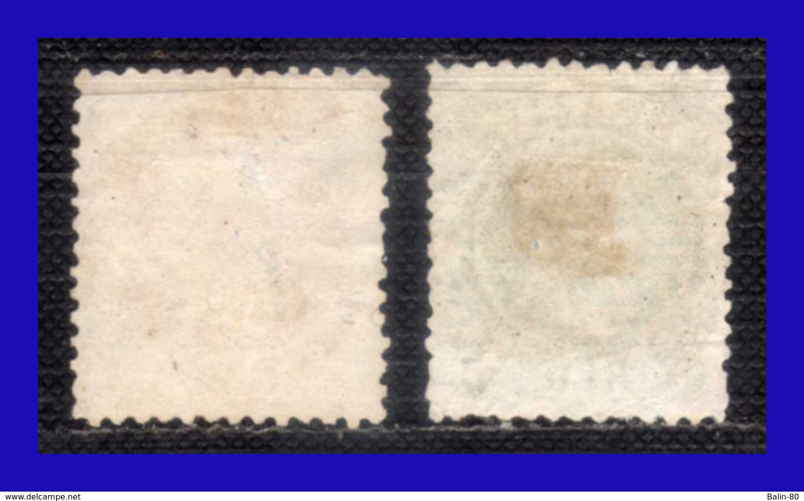 1882 - 1884 - Brasil - Sc. 83 - 84  - BR- 271 - Scaneadas A 600 Ppp - Usados