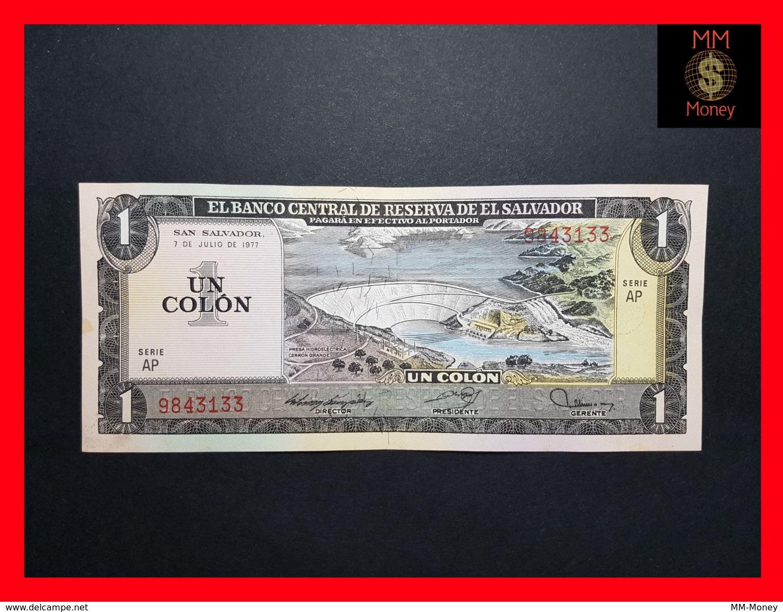 EL SALVADOR 1 Colon 7.7.1977 P. 125 A  XF - Salvador