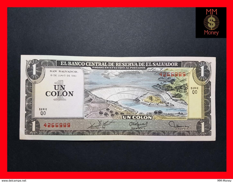 EL SALVADOR 1 Colon 19.6.1980 P. 125 B AU \ UNC - El Salvador