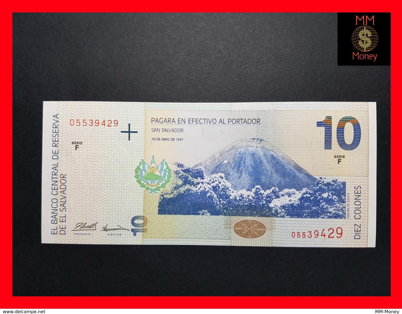 EL SALVADOR 10 Colones 18.4.1997 P. 148  UNC - El Salvador