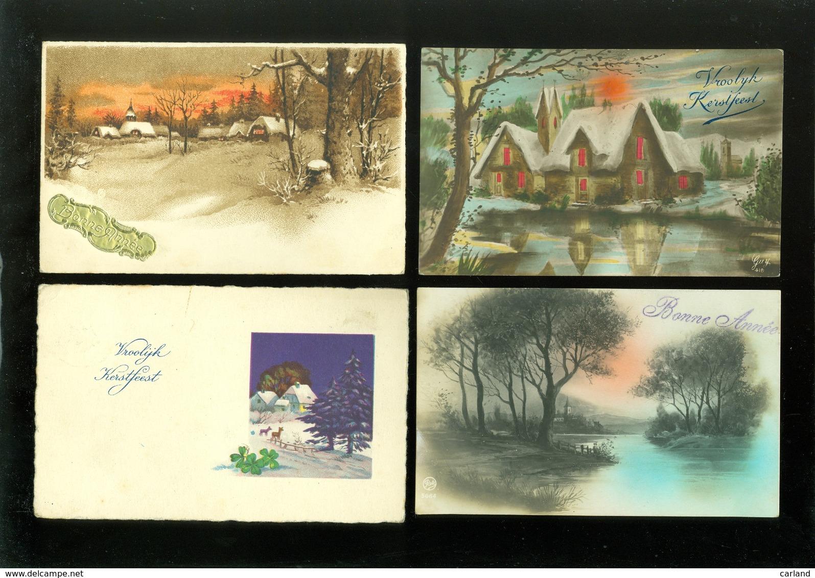 Beau Lot De 60 Cartes Postales De Fantaisie Paysages Paysage Mooi Lot Van 60 Postkaarten Fantasie Landschappen Landschap - Cartes Postales
