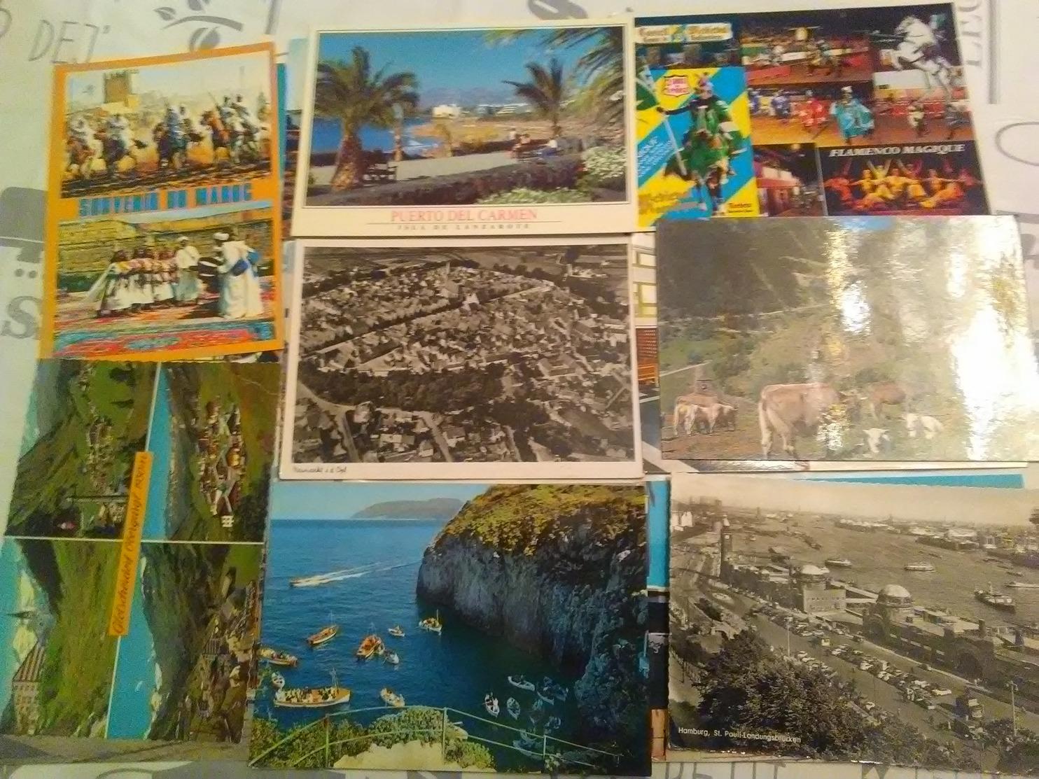 Lot De 5000 Cartes Etrangeres Cpm Cpsm - Cartes Postales