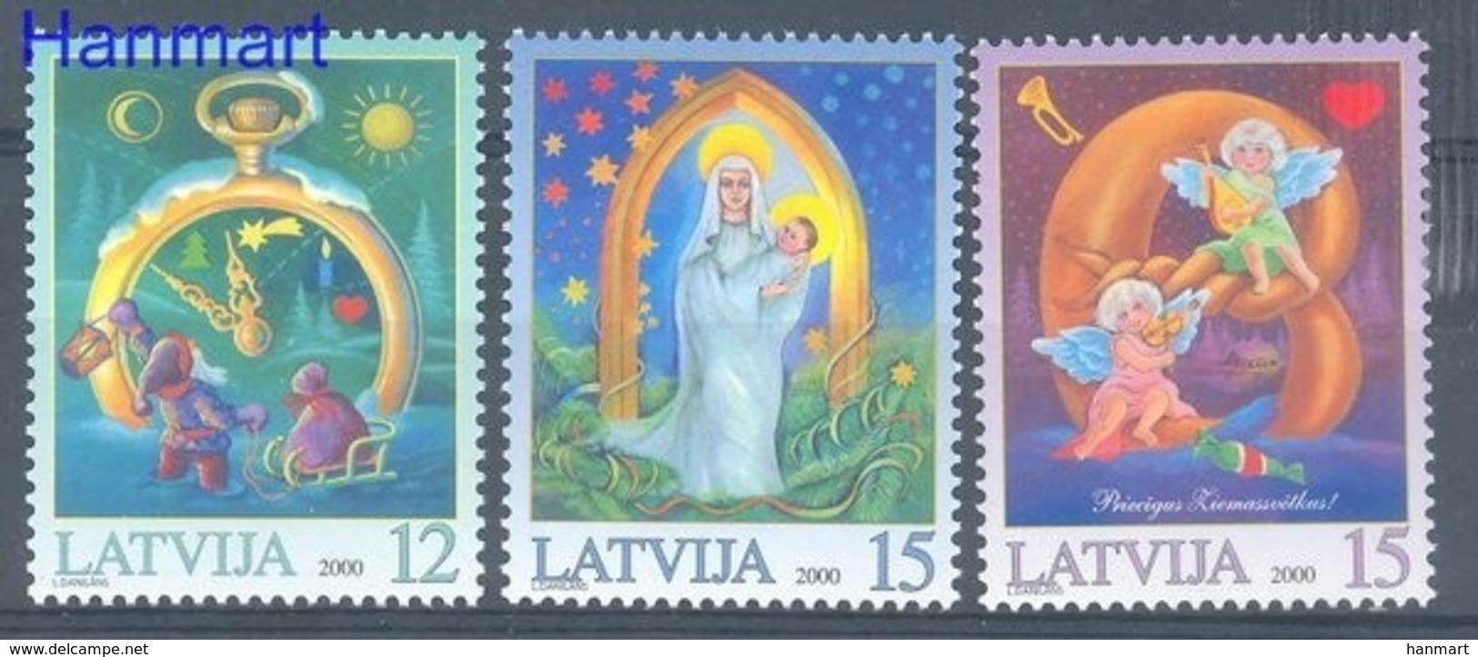Latvia 2000 Mi 535-537 MNH ( ZE3 LTV535-537 ) - Lettland
