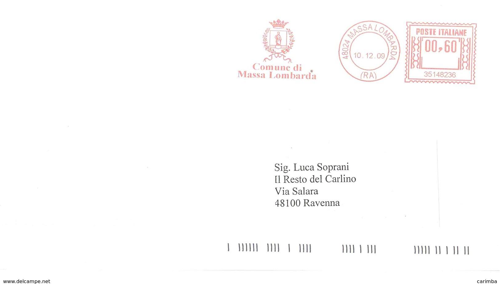 COMUNE DI MASSA LOMBARDA - Affrancature Meccaniche Rosse (EMA)