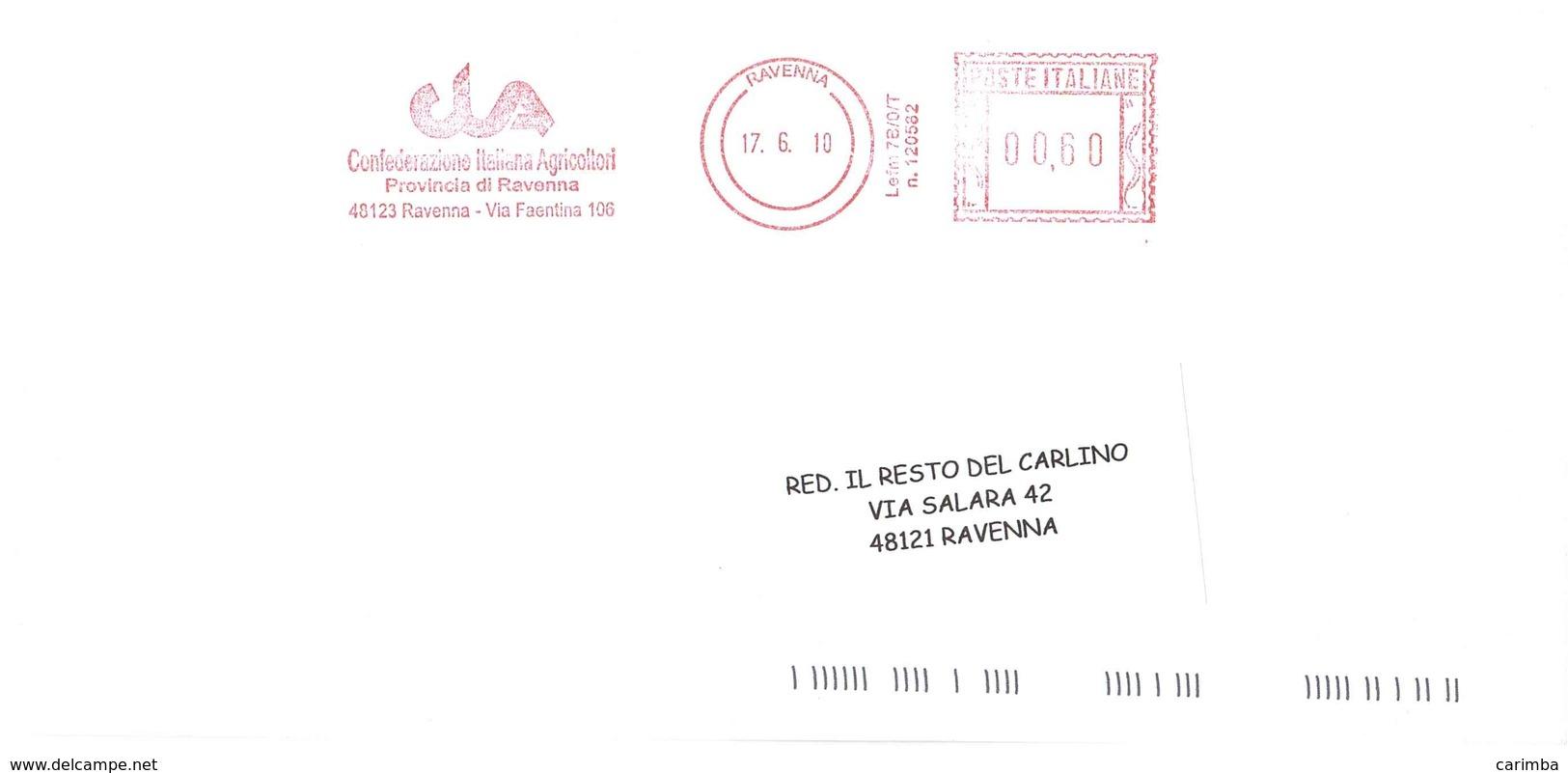 CONFEDERAZIONE ITALIANA AGRICOLTORI RAVENNA - Affrancature Meccaniche Rosse (EMA)