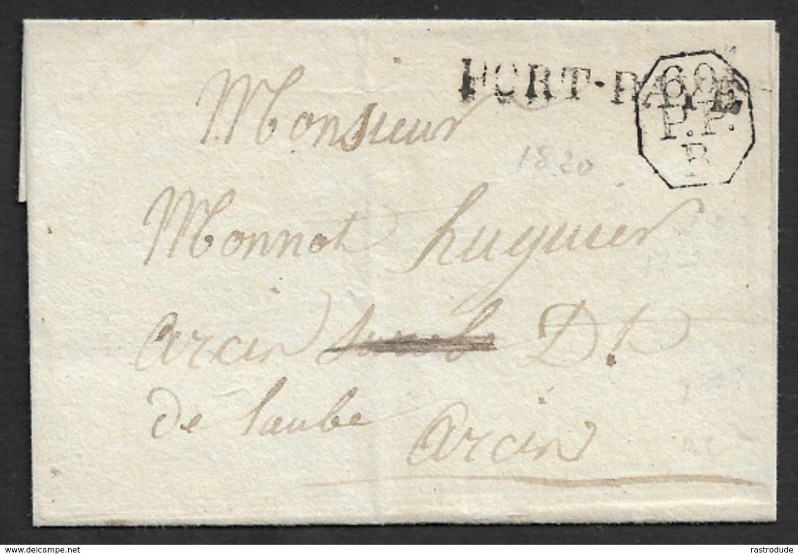 LSC - PARIS -  PORT PAYÉ + 60 ENCANDRÉ OCTOGONAL - BUREAU B - - Marcophilie (Lettres)