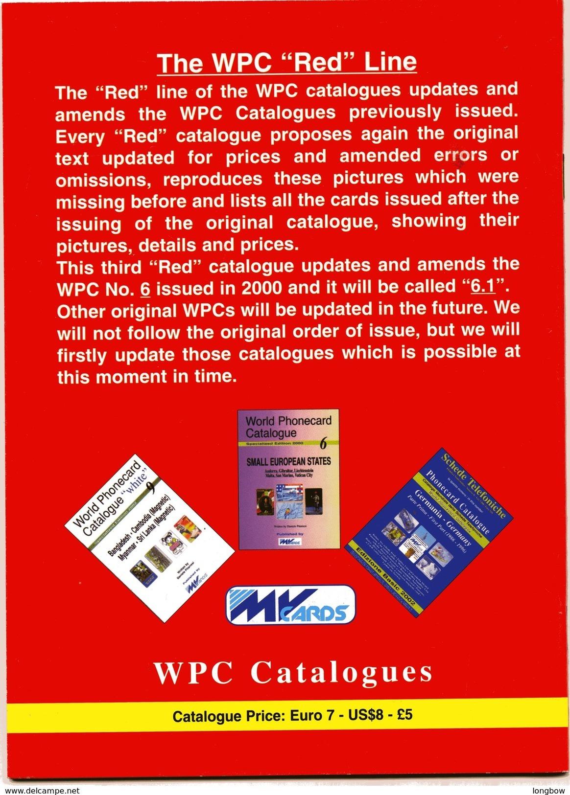 WORLD PHONECARD-RED-6.1 SMALL EUROPEAN STATES - Telefonkarten