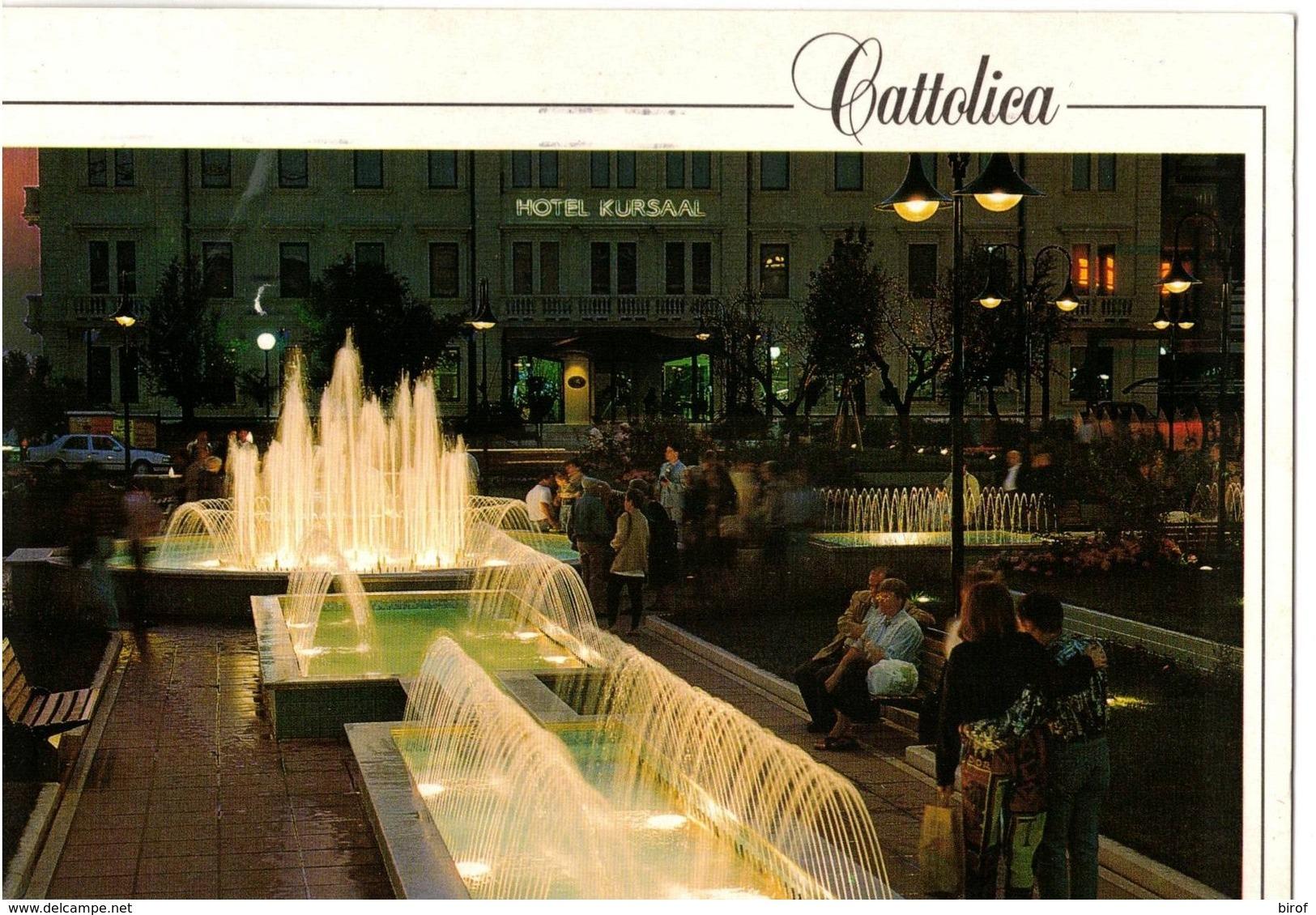 CATTOLICA - FONTANE - GIOCHI D'ACQUA  - (RN) - Rimini