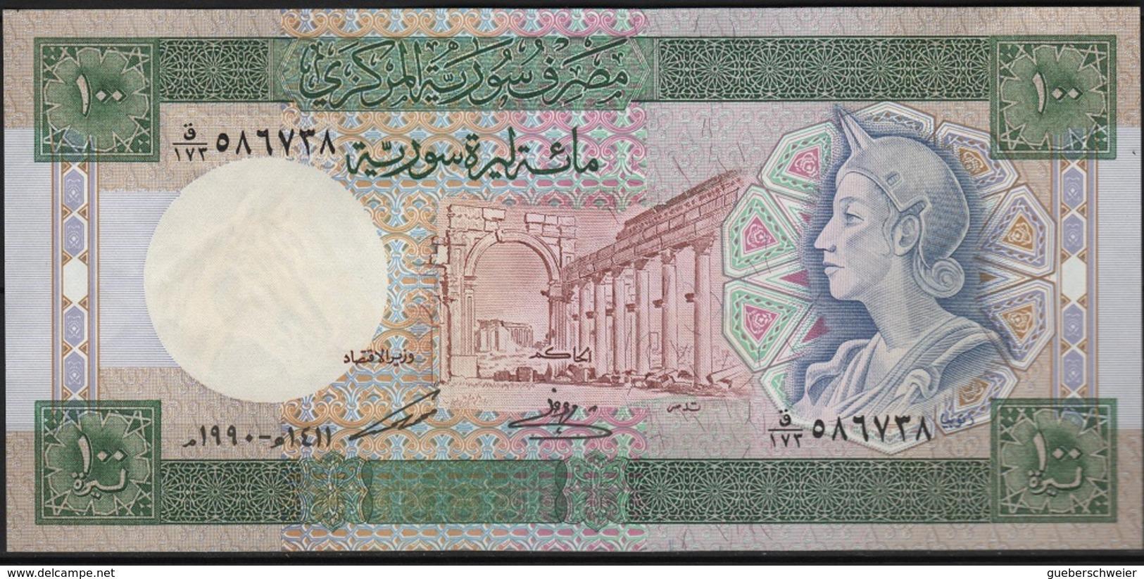 B 119 - SYRIE Billet De 100 Pounds De 1990 état Neuf 1er Choix - Syrie