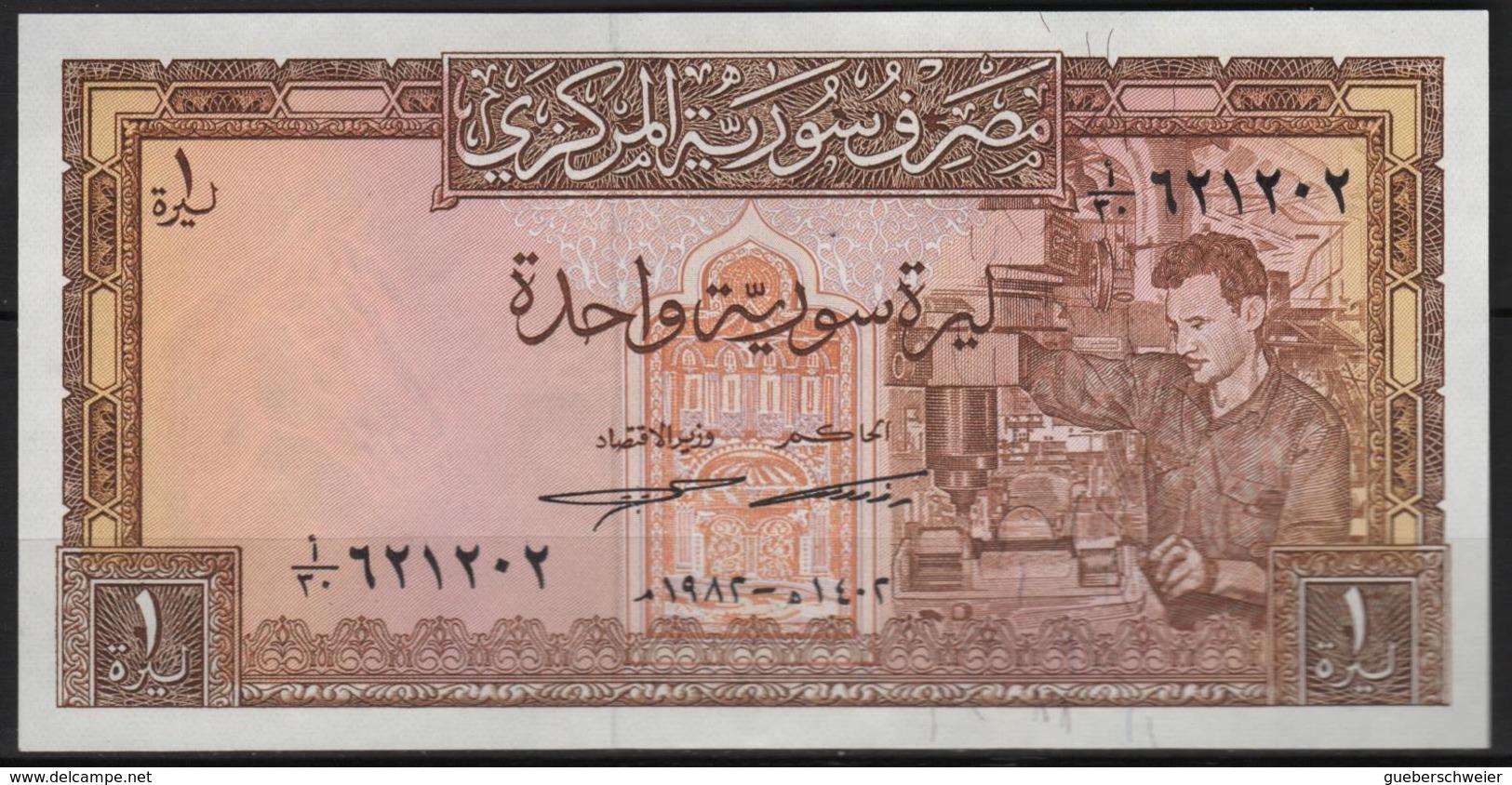 B 120 - SYRIE Billet De 1 Pound De 1982 état Neuf 1er Choix - Syrie