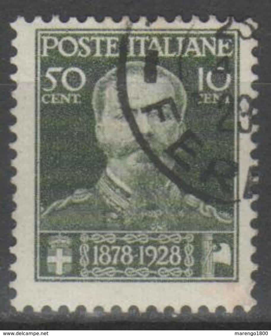 ITALIA 1929 - Vittorio Emanuele II          (g5474) - Usati