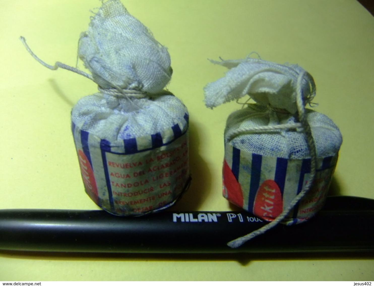 AZULETE EN POLVO BRASSO PERFUMADO BILBAO - Otras Colecciones