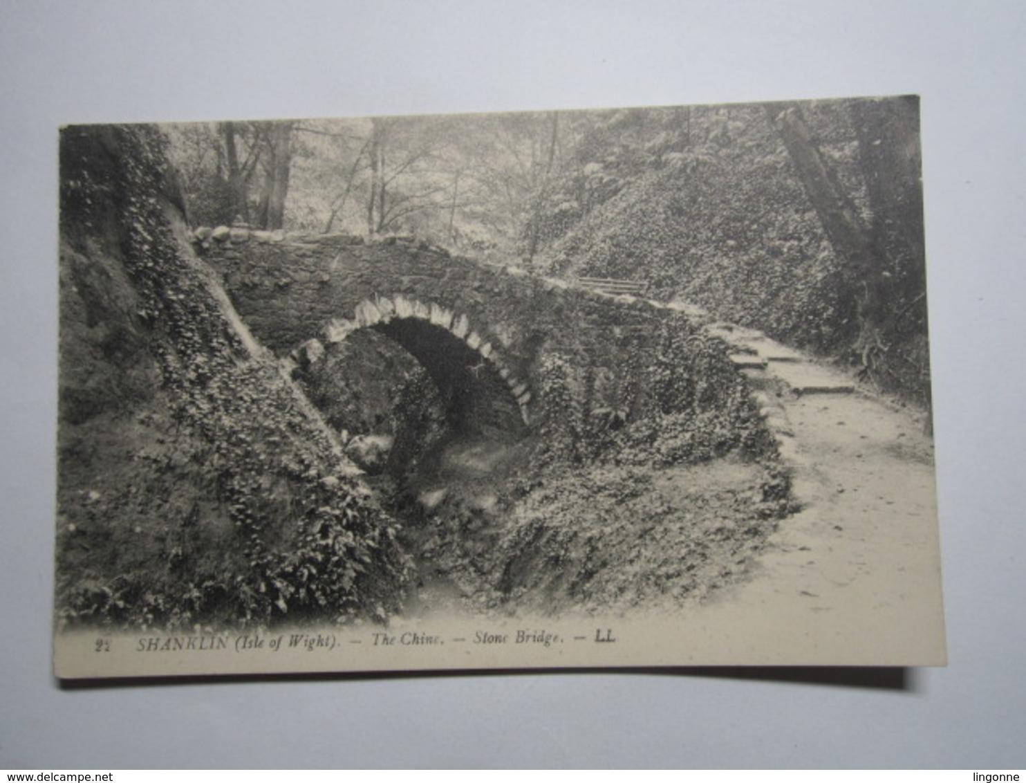 Shanklin (Isle Of Wight) The Chine Stone Bridge - Angleterre