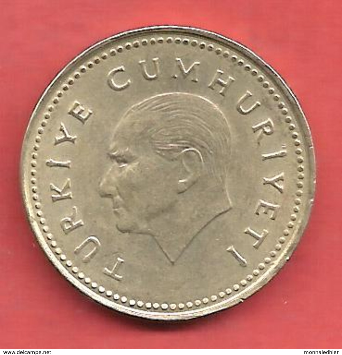 2500 Lira ( Lire ) , TURQUIE , Nickel-Bronze , 1991 , N° KM # 1015 - Turquie