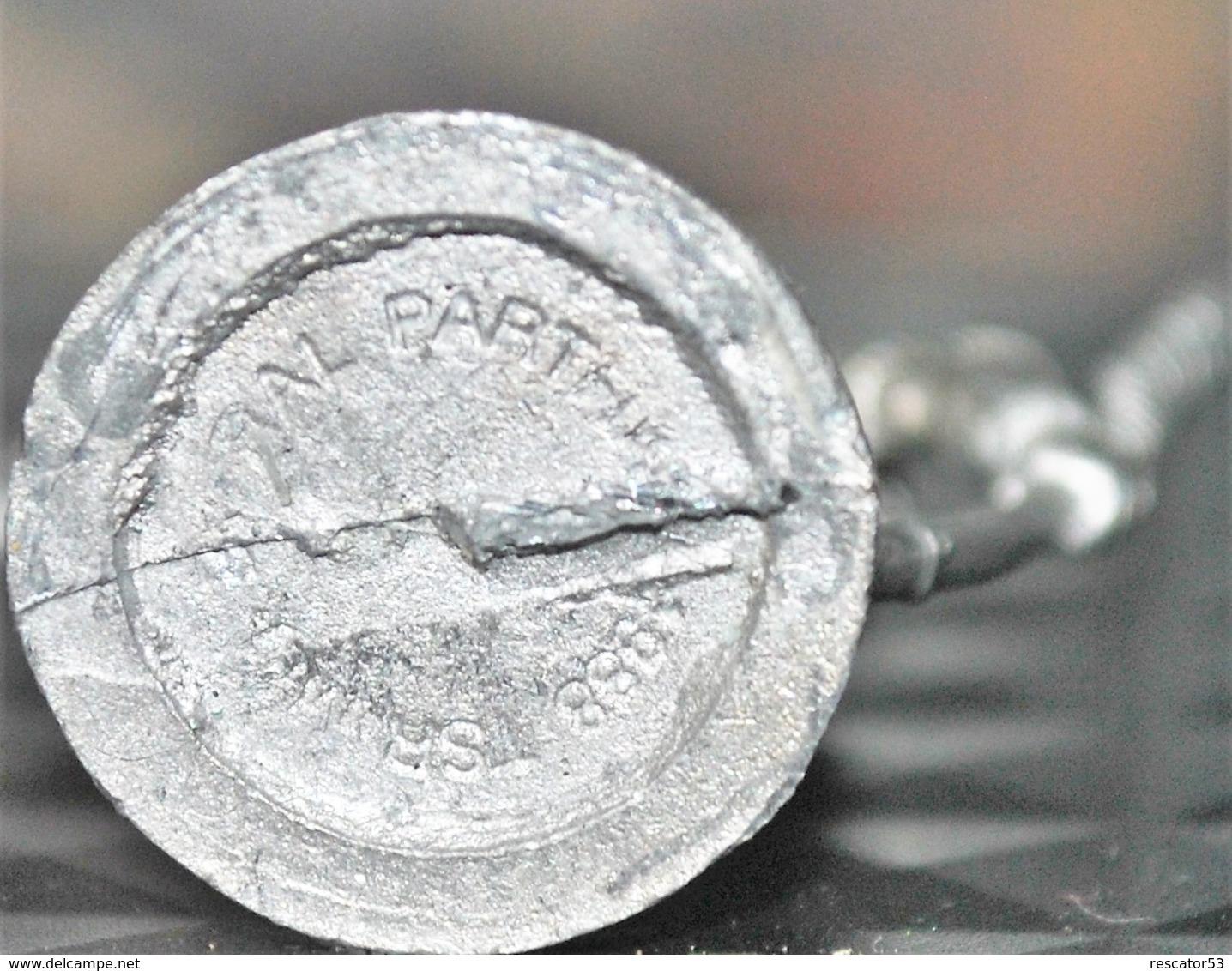 Rare Figurine  En Plomb Pour Jeux De Rôles 3 Cm Années 80 - Jeux De Société