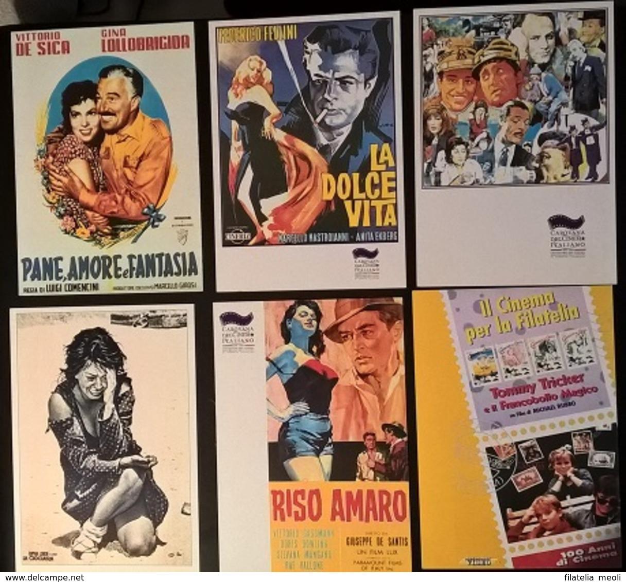 12 CARTOLINE CAROVANA DEL CINEMA - Cinemania