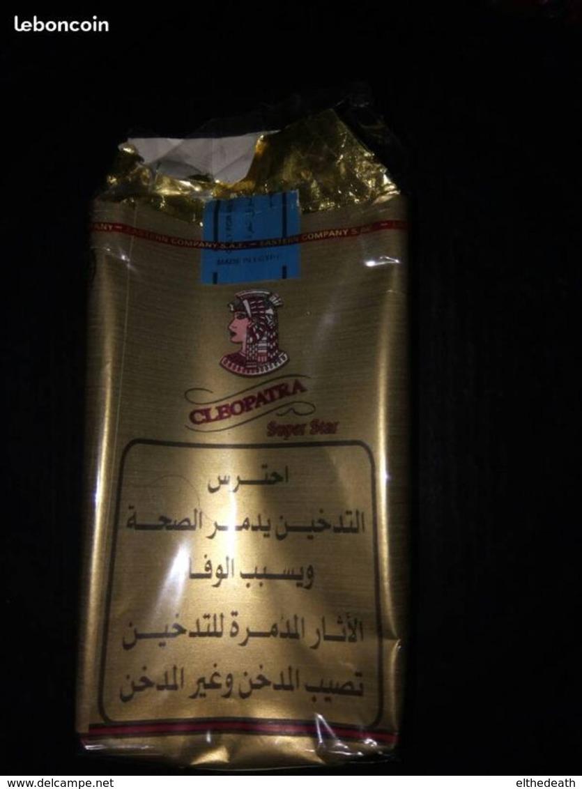 Paquet Vide De Cigarettes De Collection Cleopatra - Boites à Tabac Vides