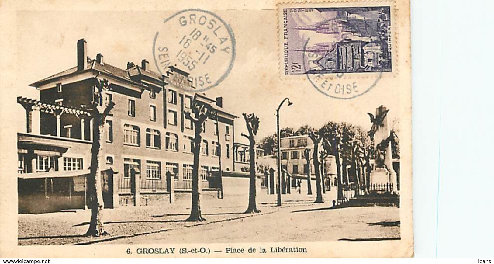 GROSLAY - Place De La Libération - 6 - Groslay