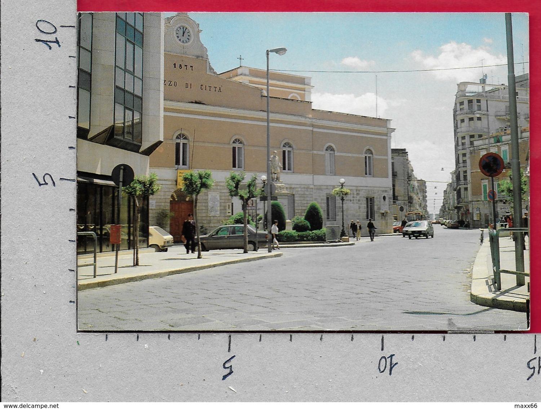 CARTOLINA VG ITALIA - CORATO (BA) - Palazzo Di Città - 10 X 15 - ANN. 1997 TURISMO TURISTICA RAVENNA - Bari