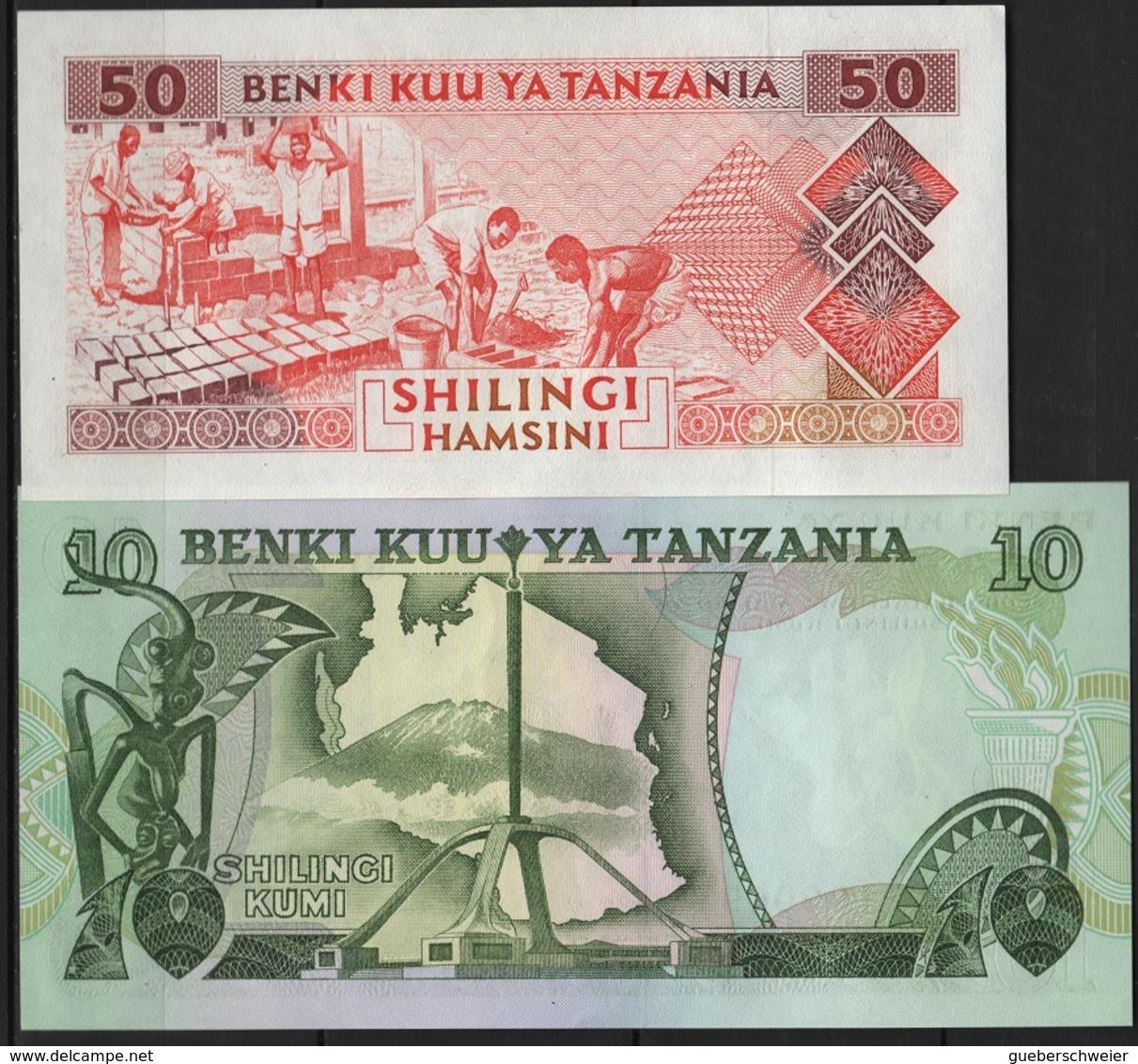 B 124 - TANZANIE Lot De 2 Billets état Neuf 1er Choix - Tanzanie