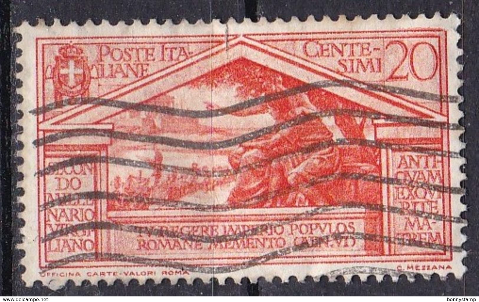 Regno D'Italia, 1930 - 20c Bimillenario Della Morte Di Virgilio, Ben Centrato - Nr.283 Usato° - Usati
