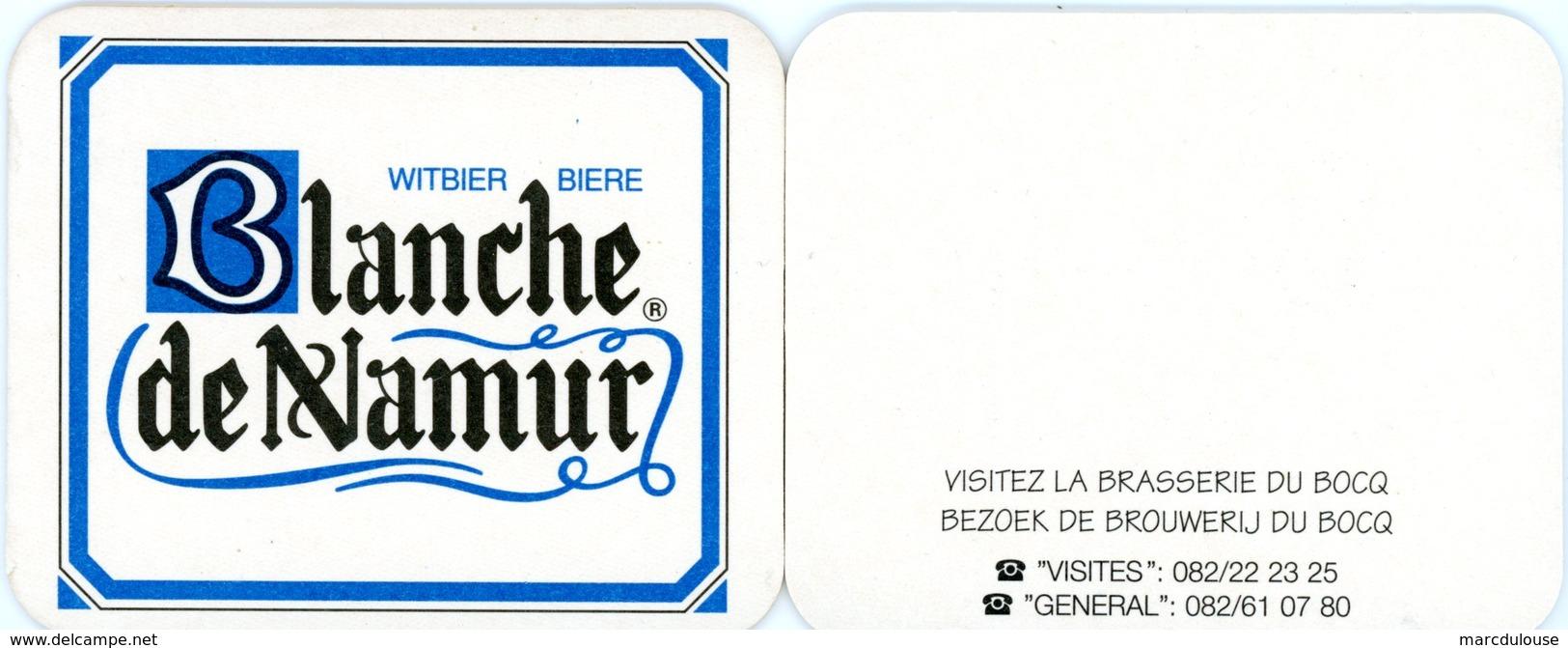 Belgium. Bière Blanche De Namur. Witbier. Visitez La Brasserie Du Bocq. Bezoek De Brouweriij Du Bocq. Belgique. België. - Sous-bocks
