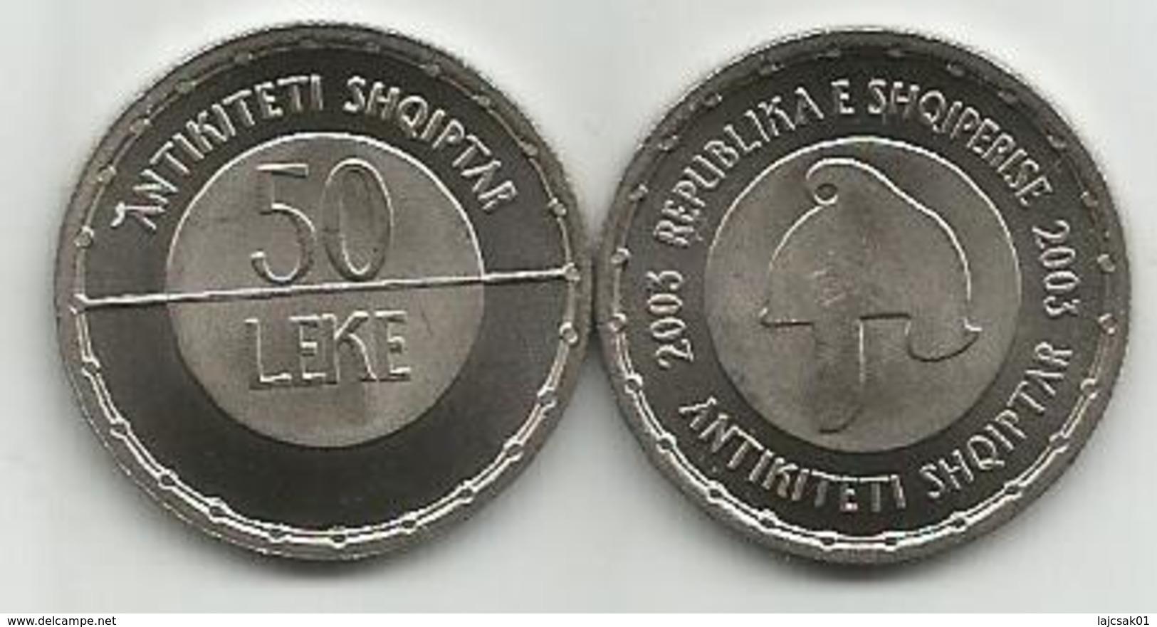 Albania 50 Leke 2003. KM#86 Albanian Antiquity High Grade - Albanie