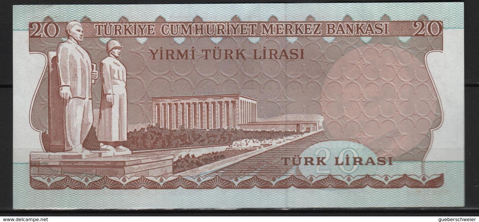 B 131 - TURQUIE Billet De 20 Lires Signature Noire état Neuf 1er Choix - Turquie