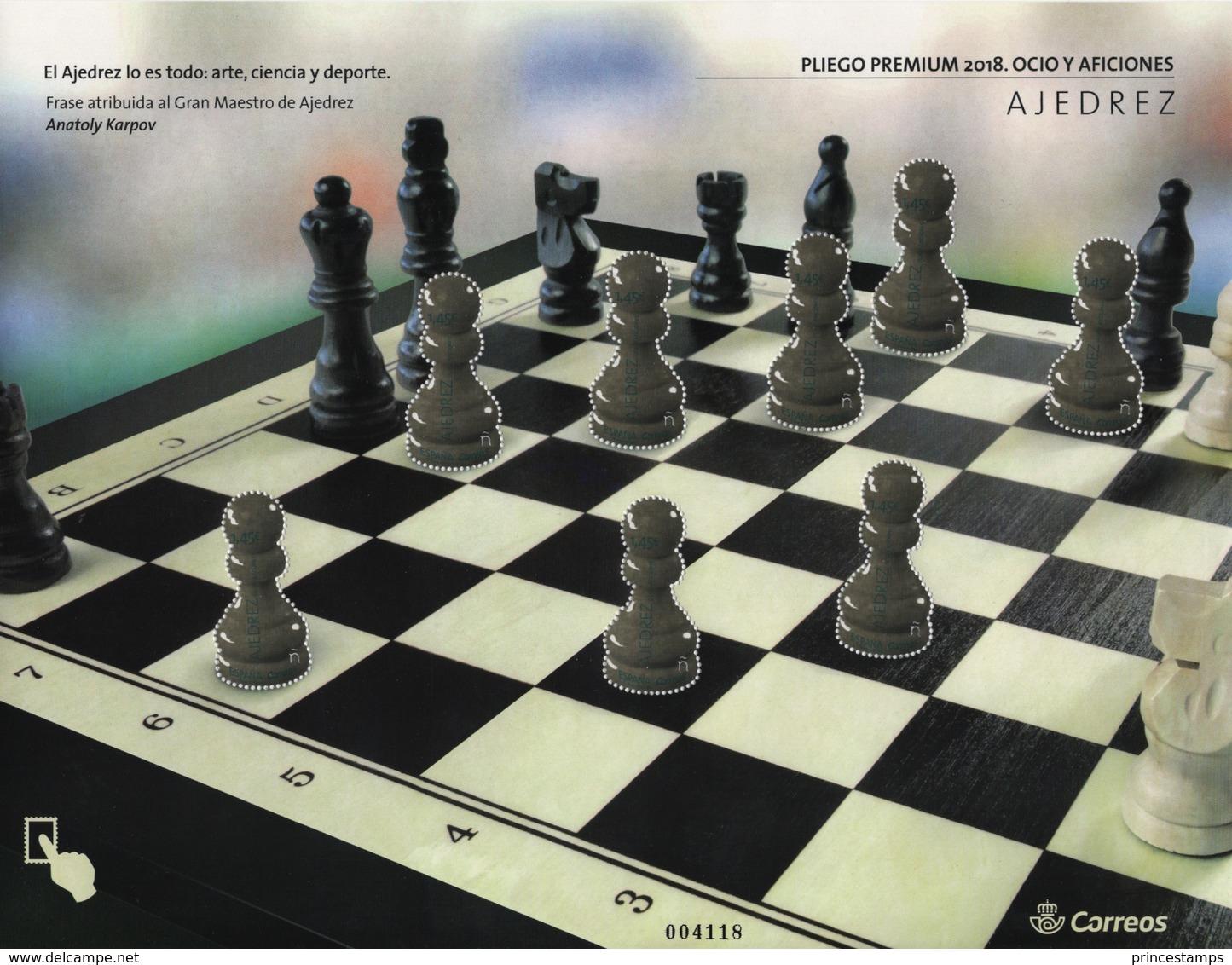 Spain (2018) - MS -  /  Chess - Echecs - Ajedrez - Schach - Schaken