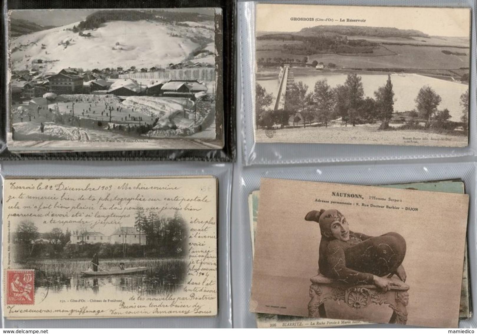 1000 CP France & Une Vingtaine De Fantaisies. Des Drouilles Et Des Pas Drouilles. Lot N° 3 - Cartes Postales