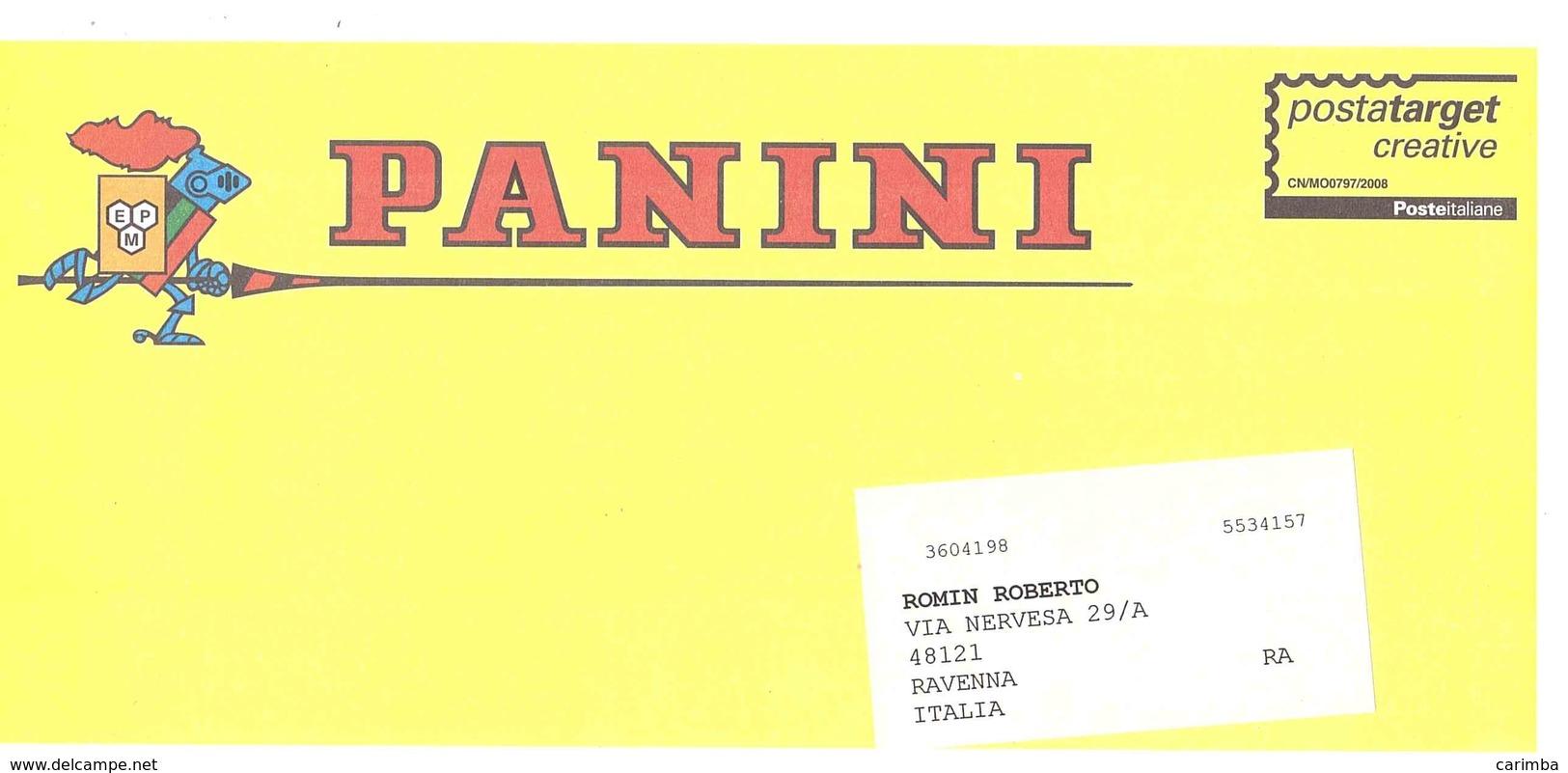 PANINI - Affrancature Meccaniche Rosse (EMA)