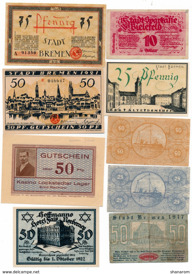 Allemagne // NOTGELD // Collection // LOT De 600 Billets - [11] Emissions Locales