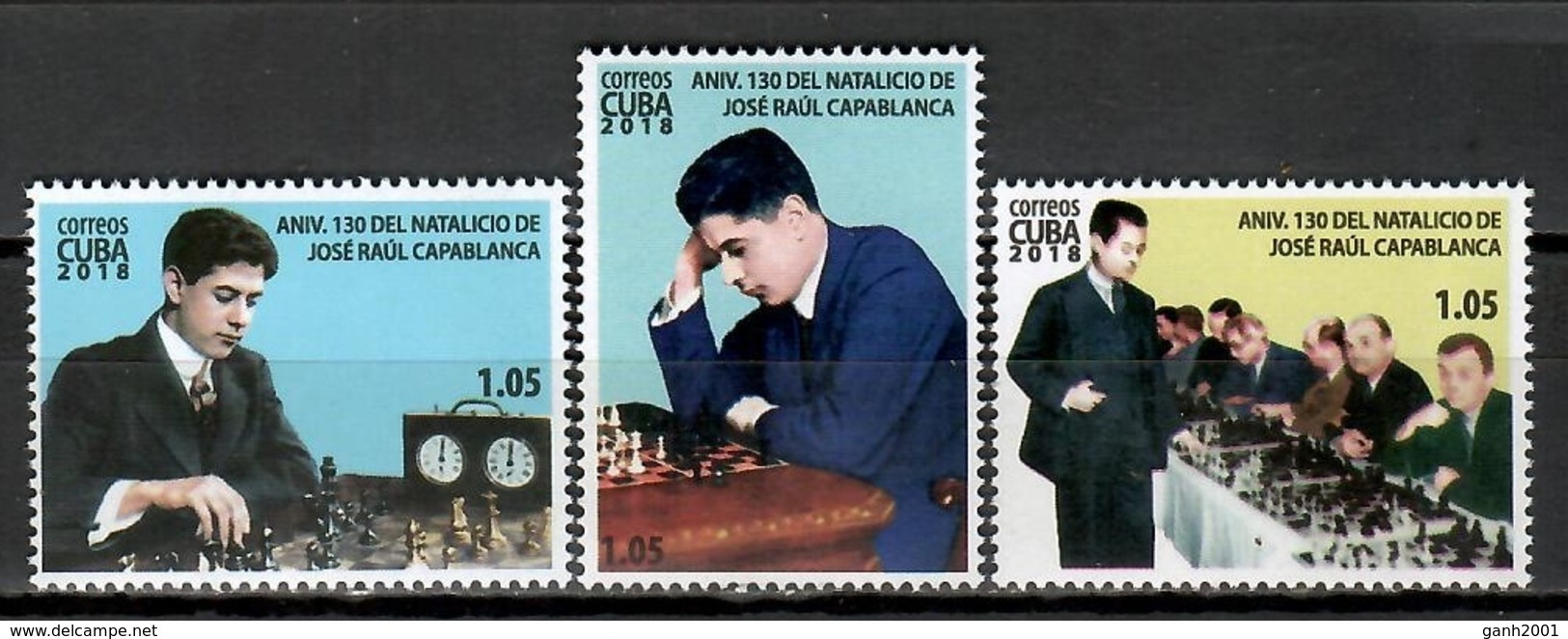 Cuba 2018 / Chess Capablanca MNH Ajedrez Schach Échecs / Cu11502  C3 - Schaken