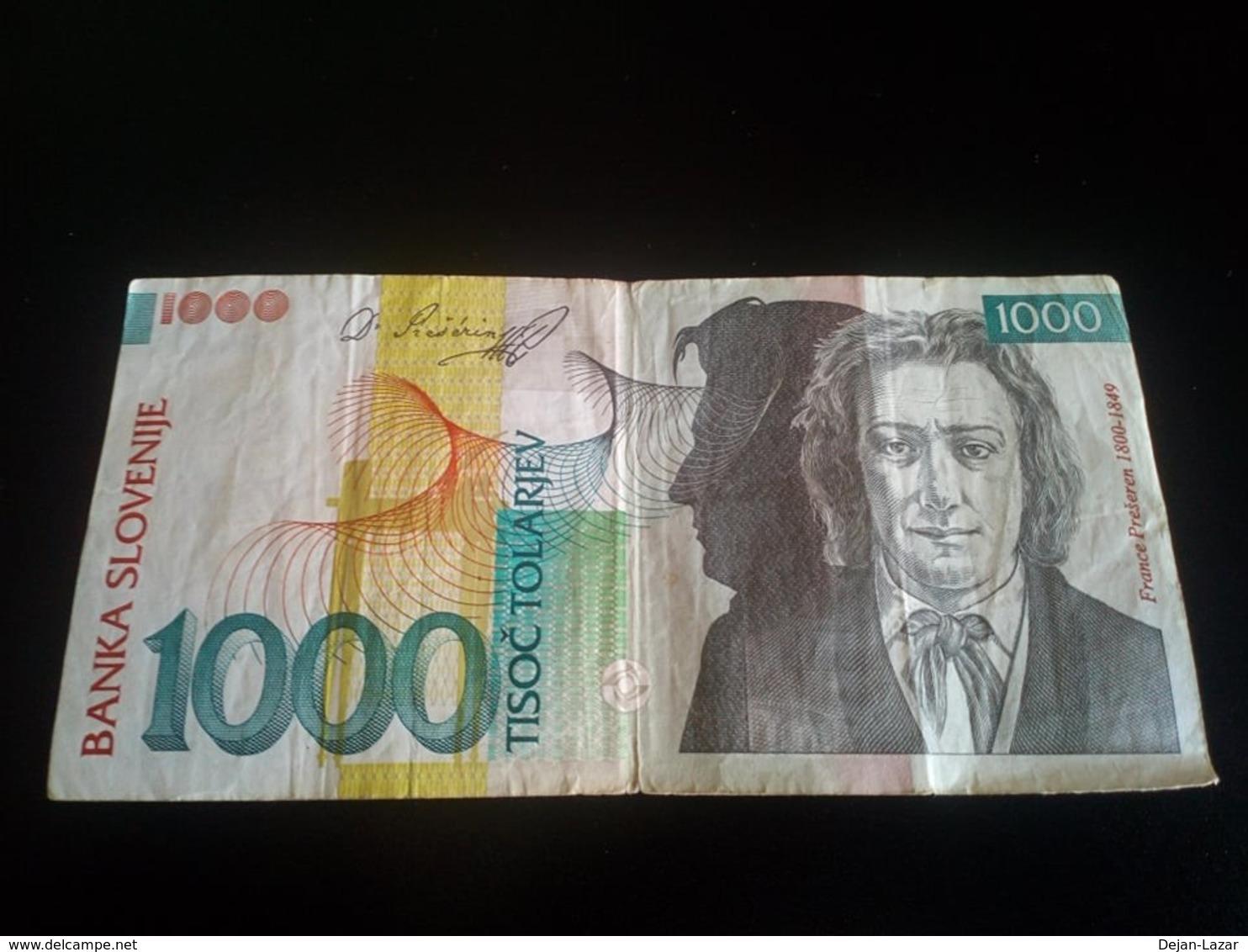 Slovenia 1000 Tolarjev 1993 - Slovénie