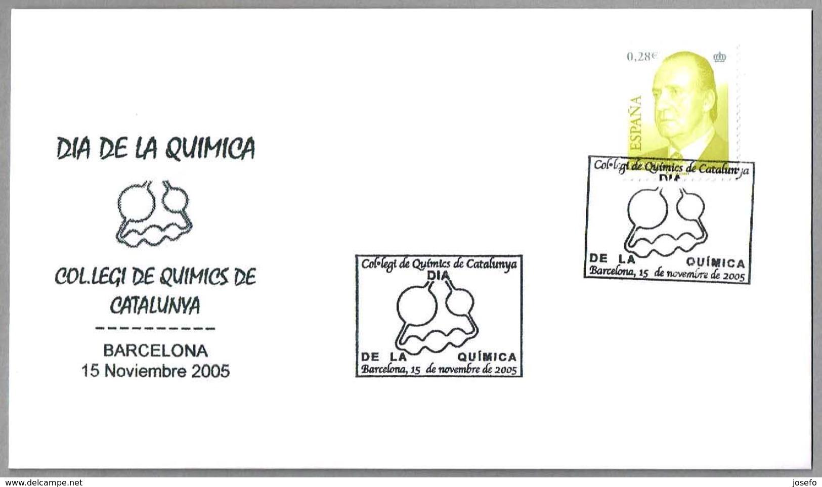 DIA DE LA QUIMICA - CHEMISTRY DAY. Barcelona 2005 - Química
