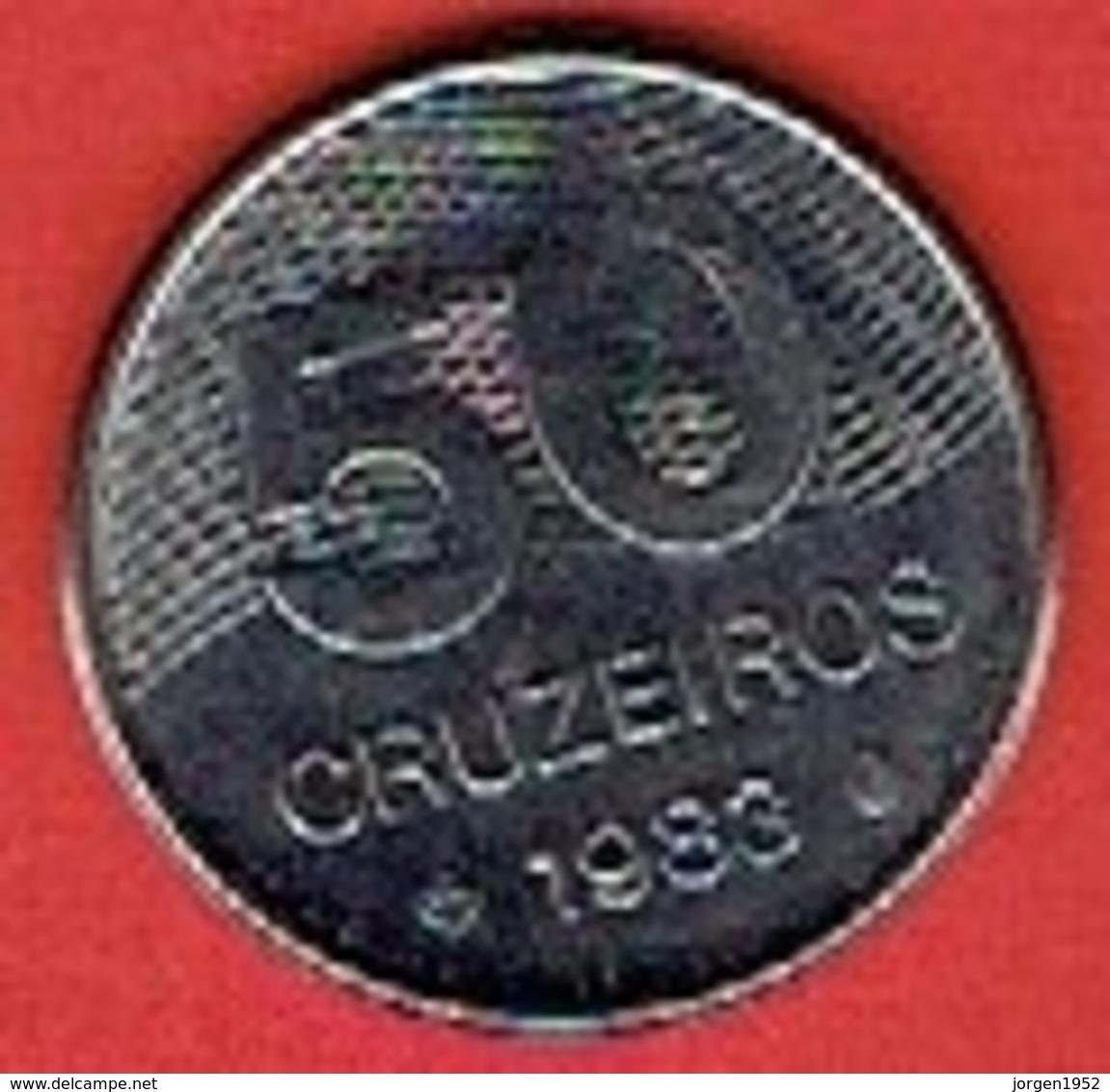 BRAZIL  # 50 Cruzeiro FROM 1983 - Brésil