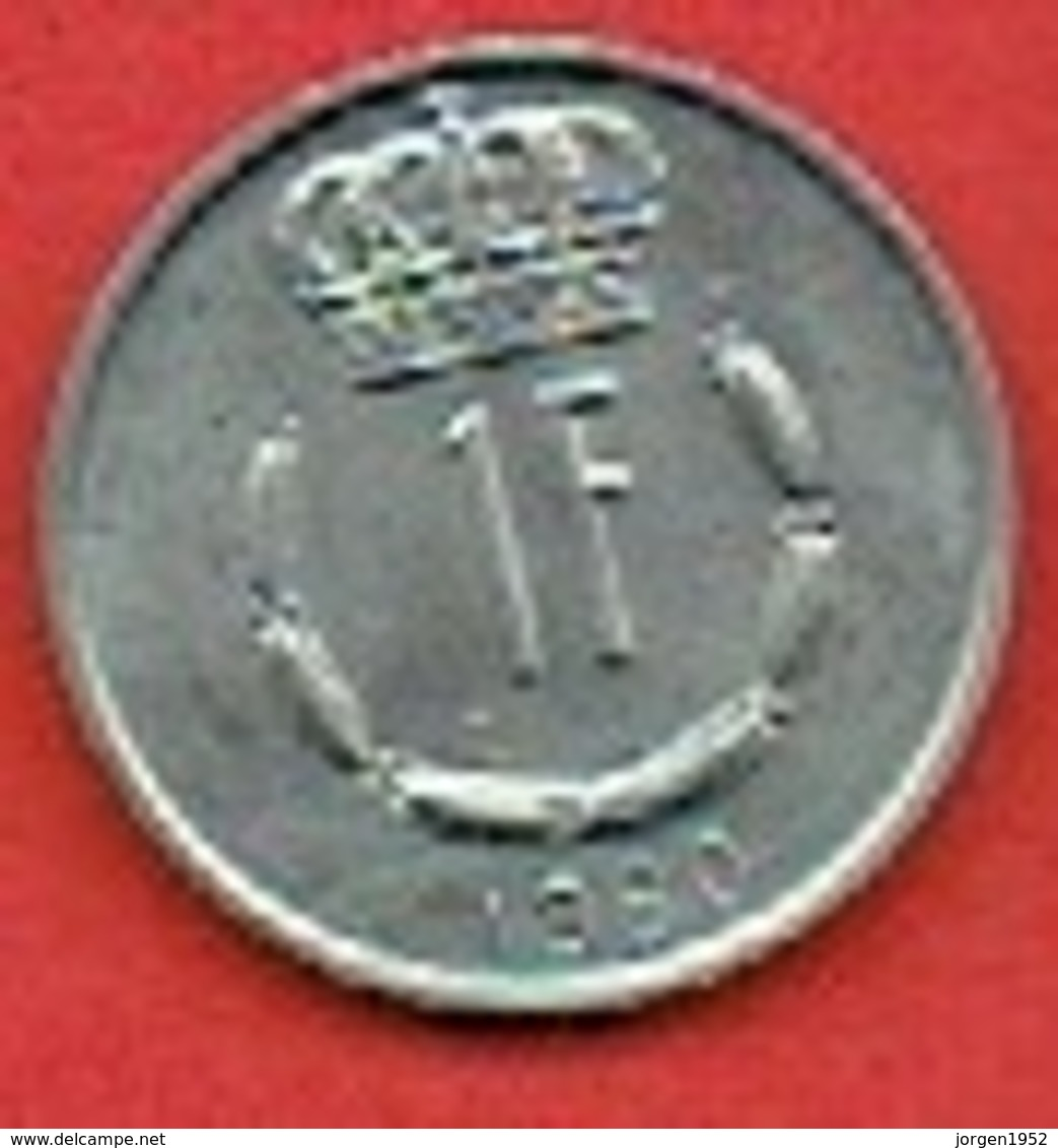 LUXEMBOURG  # 1 FRANC FROM 1980 - Luxembourg