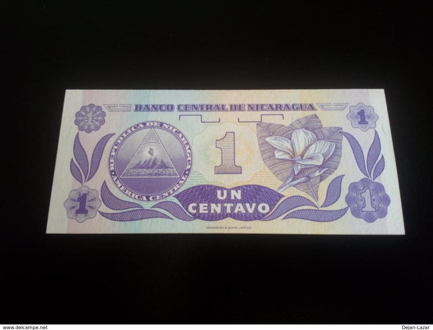 Nicaragua 1 Centavo 1991 UNC - Nicaragua