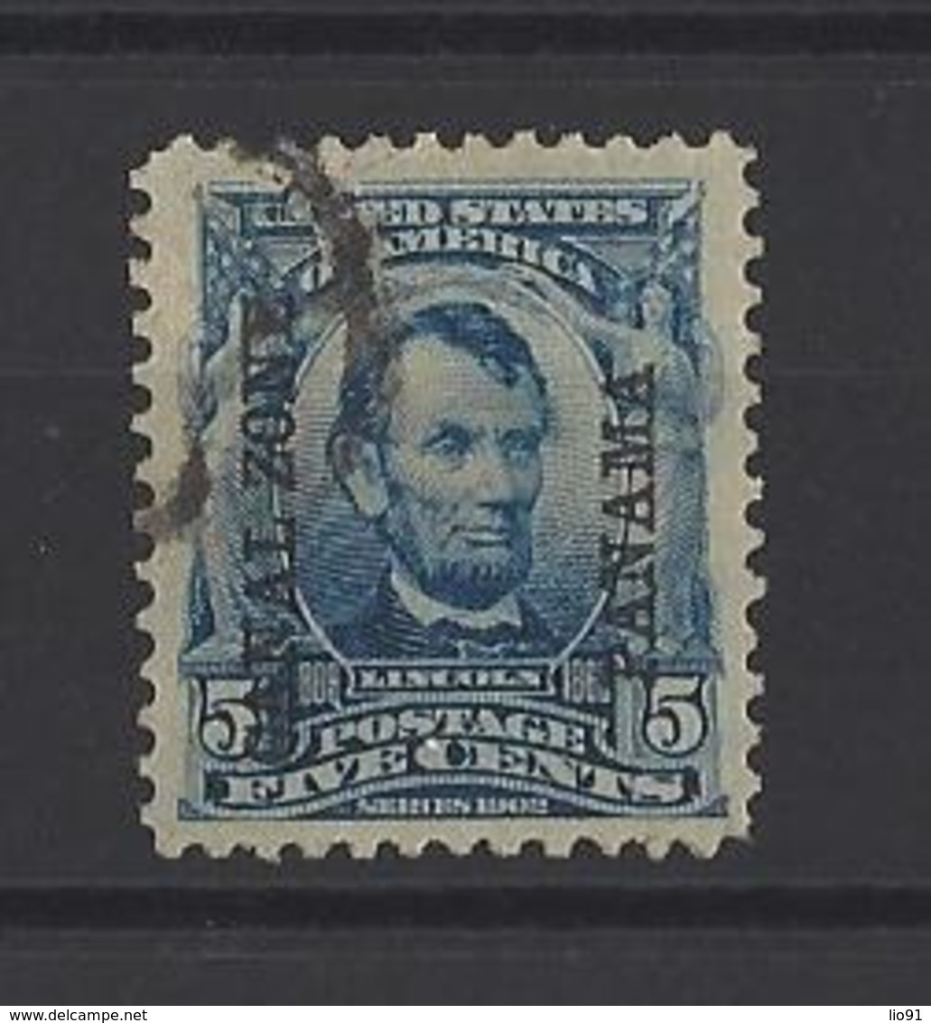 PANAMA Zone Du Canal.  YT   N° 7  Obl  1904 - Panama