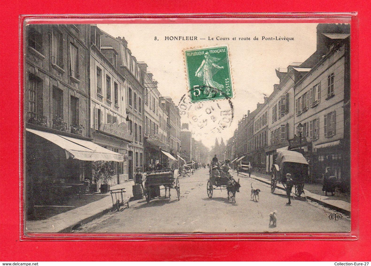 14-CPA HONFLEUR - Honfleur