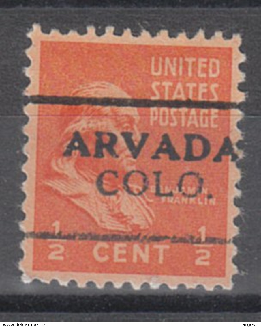USA Precancel Vorausentwertung Preo, Locals Colorado, Arvada 701 - Vereinigte Staaten