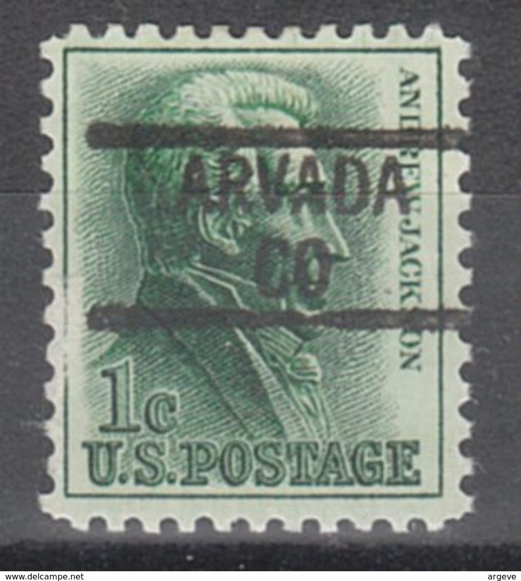 USA Precancel Vorausentwertung Preo, Locals Colorado, Arvada 839 - Vereinigte Staaten